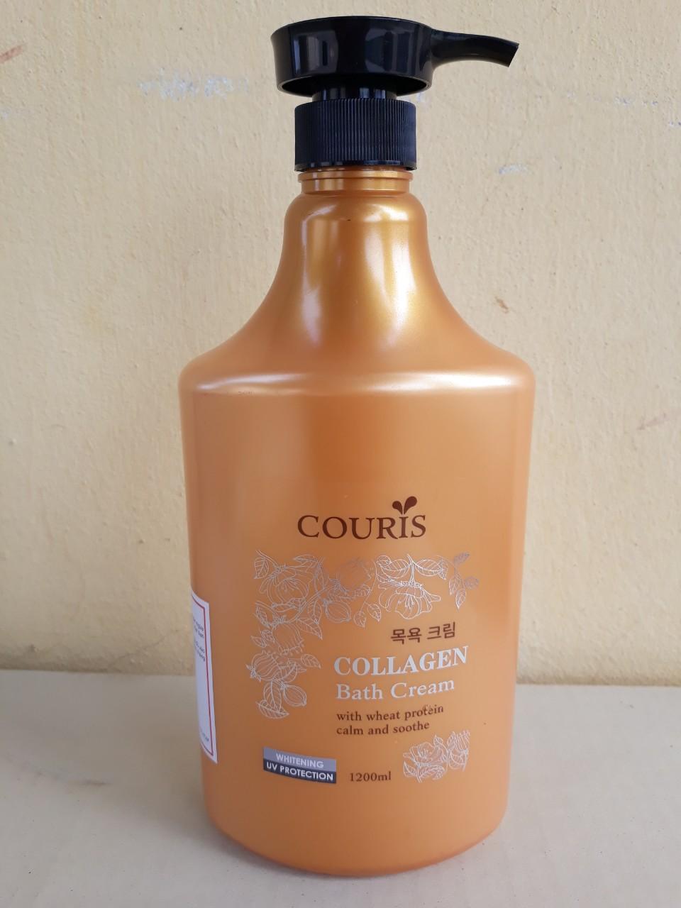 Sữa tắm Couris collagen 1200ml