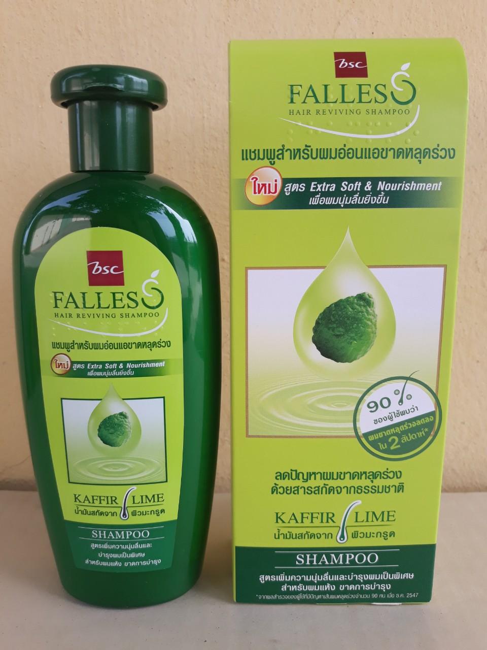 Dầu gội và xã phục hồi tóc Falless 300ml (dùng cho tóc hư tổn)