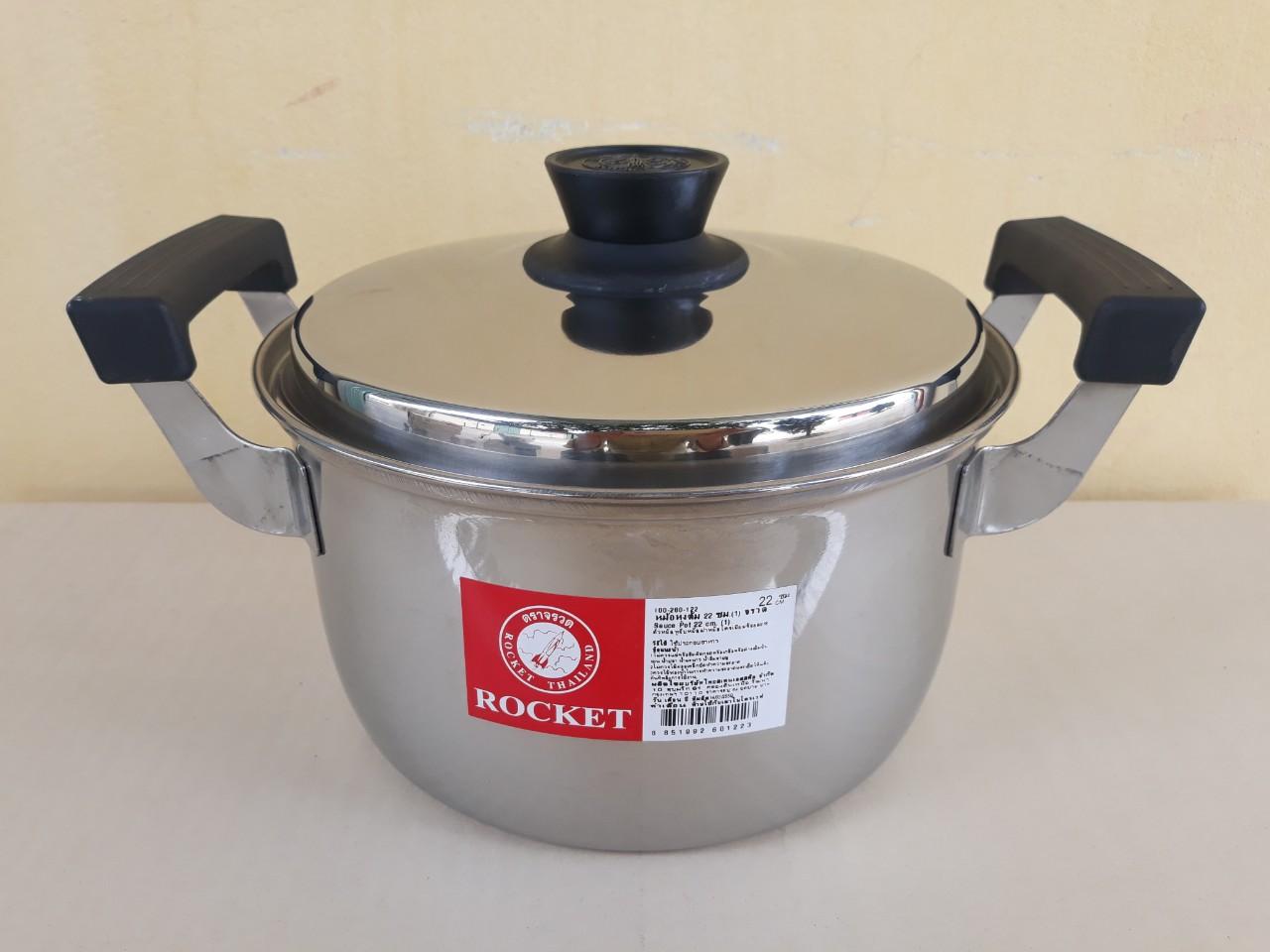 Nồi nấu canh Rocket 22cm - 3.7 lít - dùng được cho bếp từ 100260122