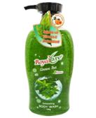 Sữa tắm hạt tẩy da chết Royalcare 745g (hương trà xanh)