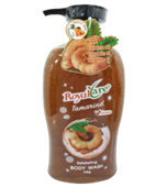 Sữa tắm hạt tẩy da chết Royalcare 745g (hương me)