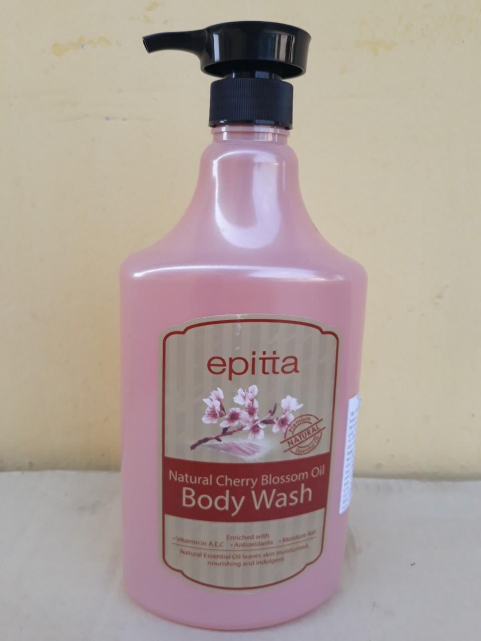 Sữa tắm dưỡng trắng da cao cấp Epitta (Hương cherry)