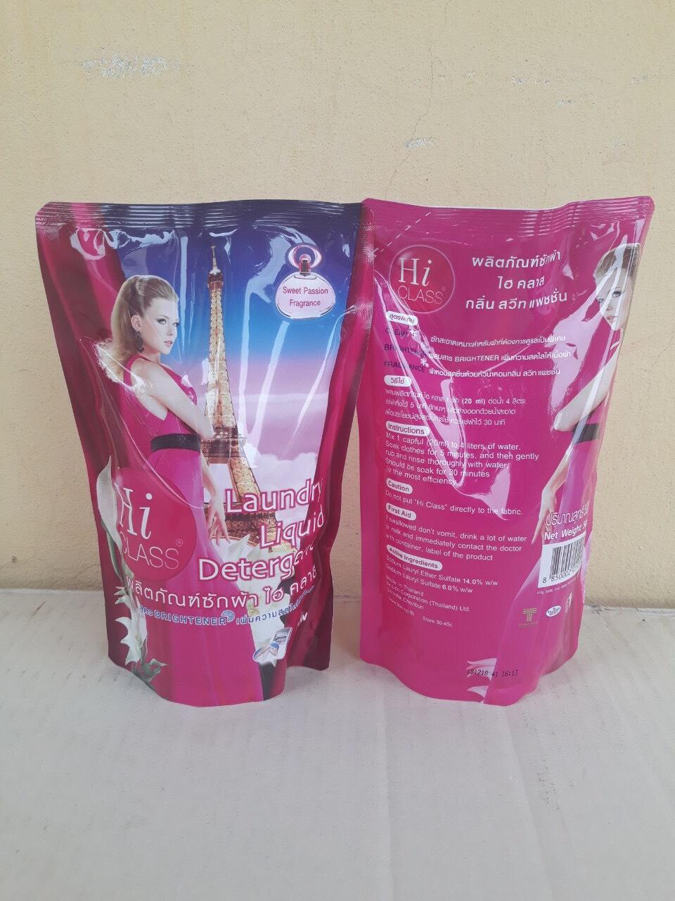 Nước giặt hiclass 500ml (sweet passion - hồng)