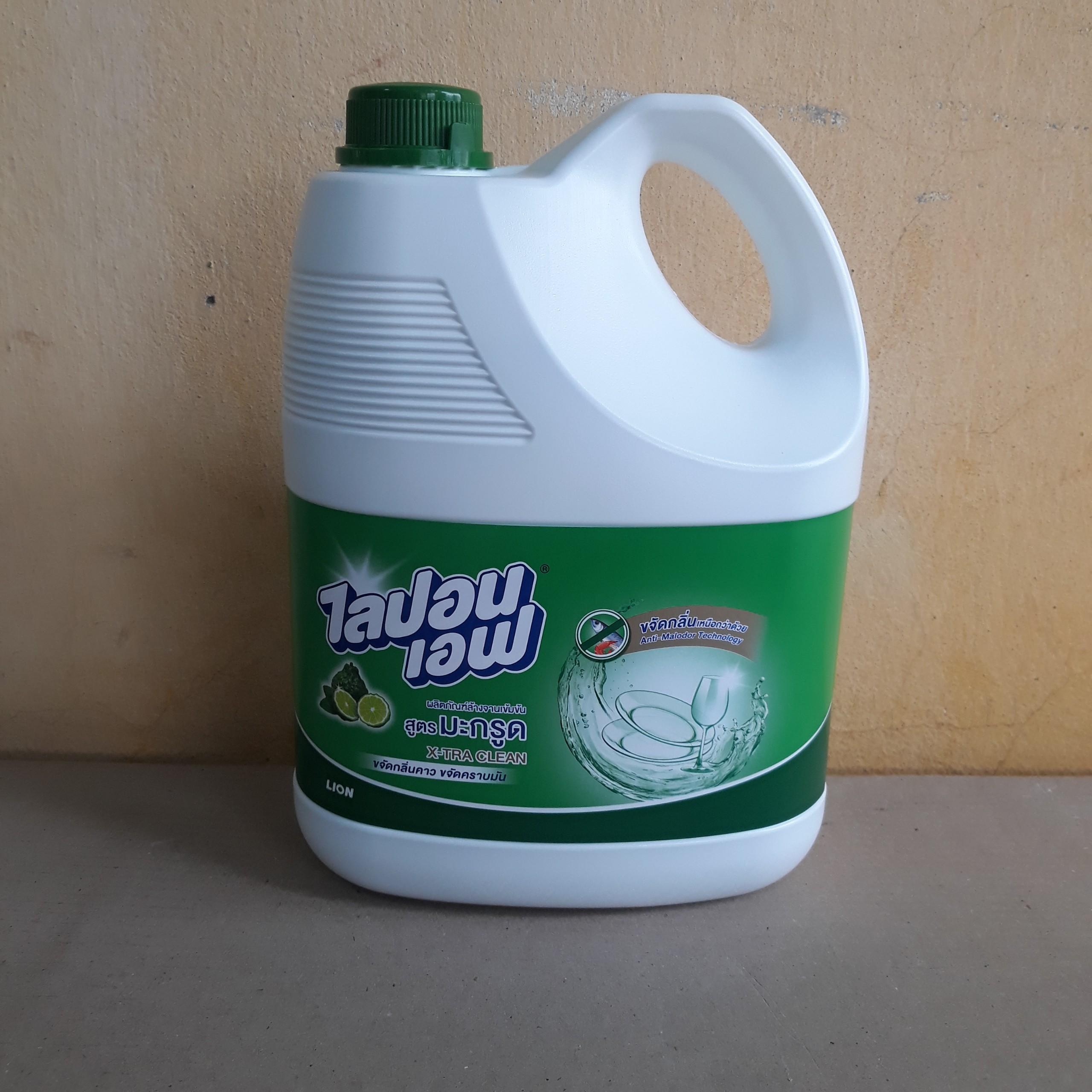 Nước rửa ly tách hương dầu thơm begamot 3600ml