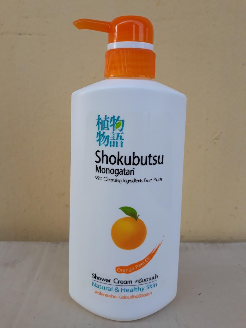 Sữa tắm Shokubutsu 500ml (Orange peel oil - cam)