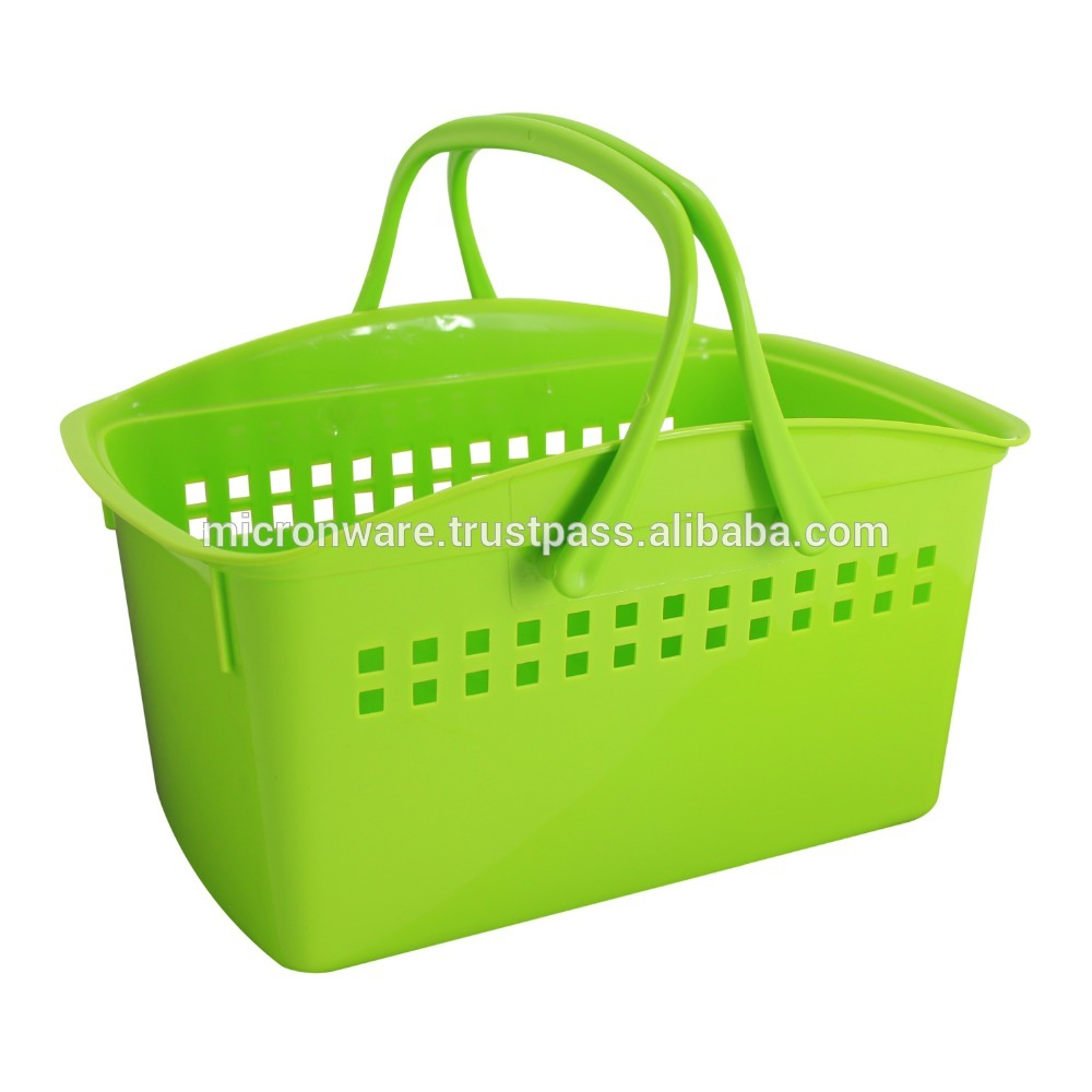 Giỏ nhựa có quai xách (20x31x16.5cm), mã số: TT-5129