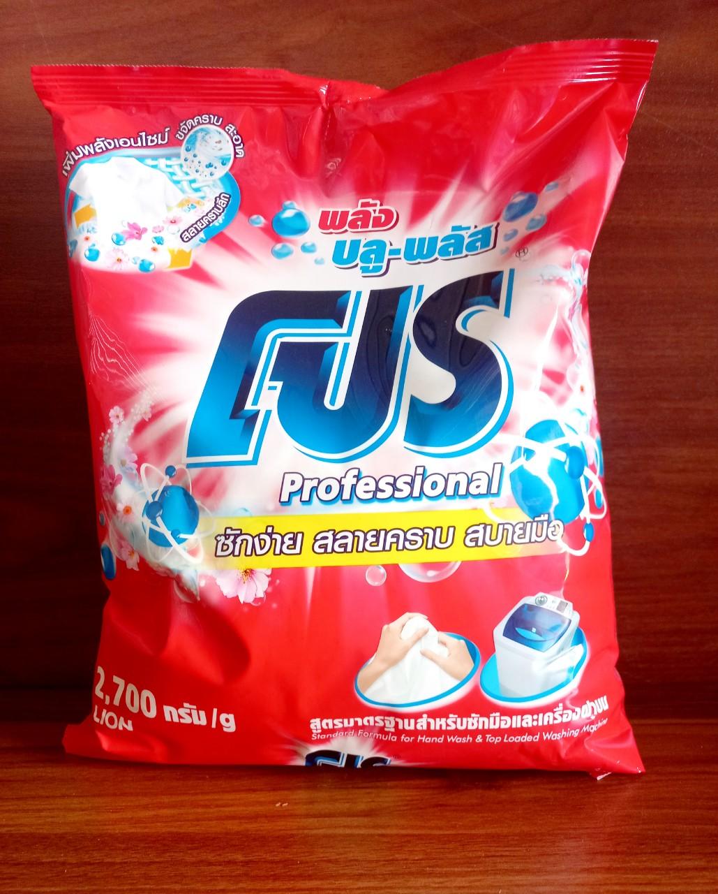 Xà phòng giặt Pro 3kg (blue plus - đỏ)