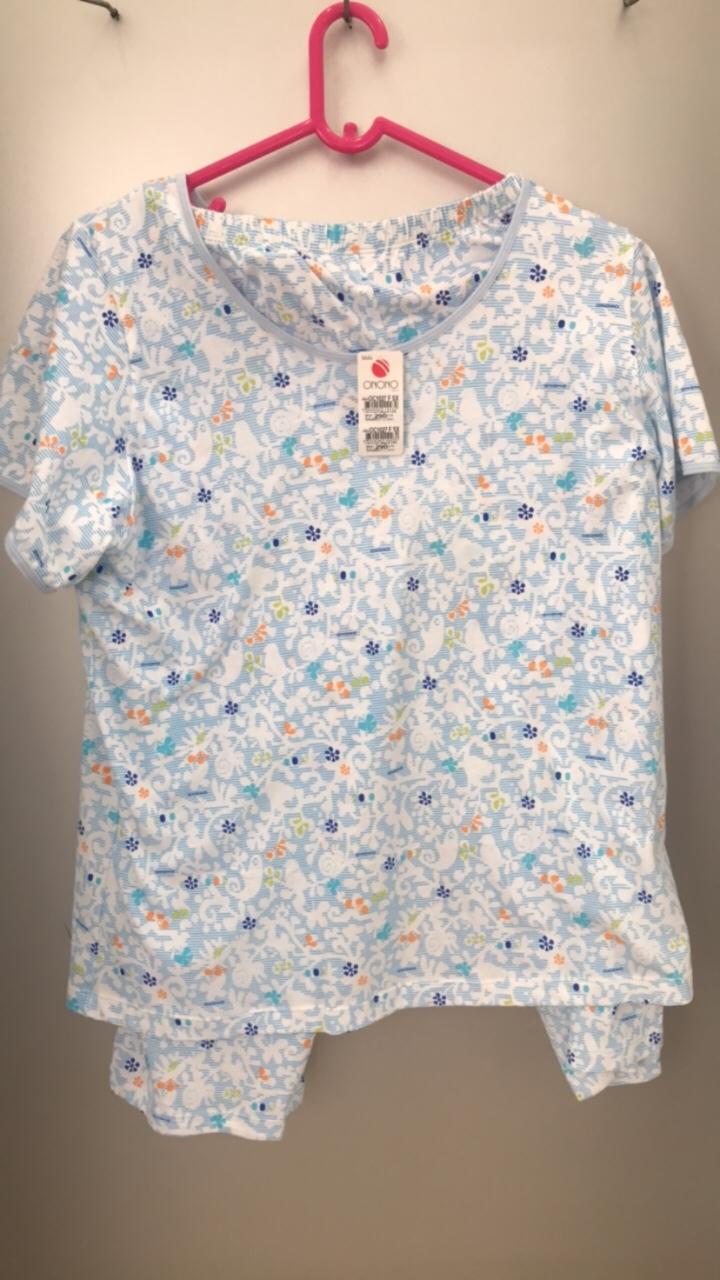 Bộ đồ ngủ nữ loại OC 1027 F (100% thành phần dệt từ Cotton)