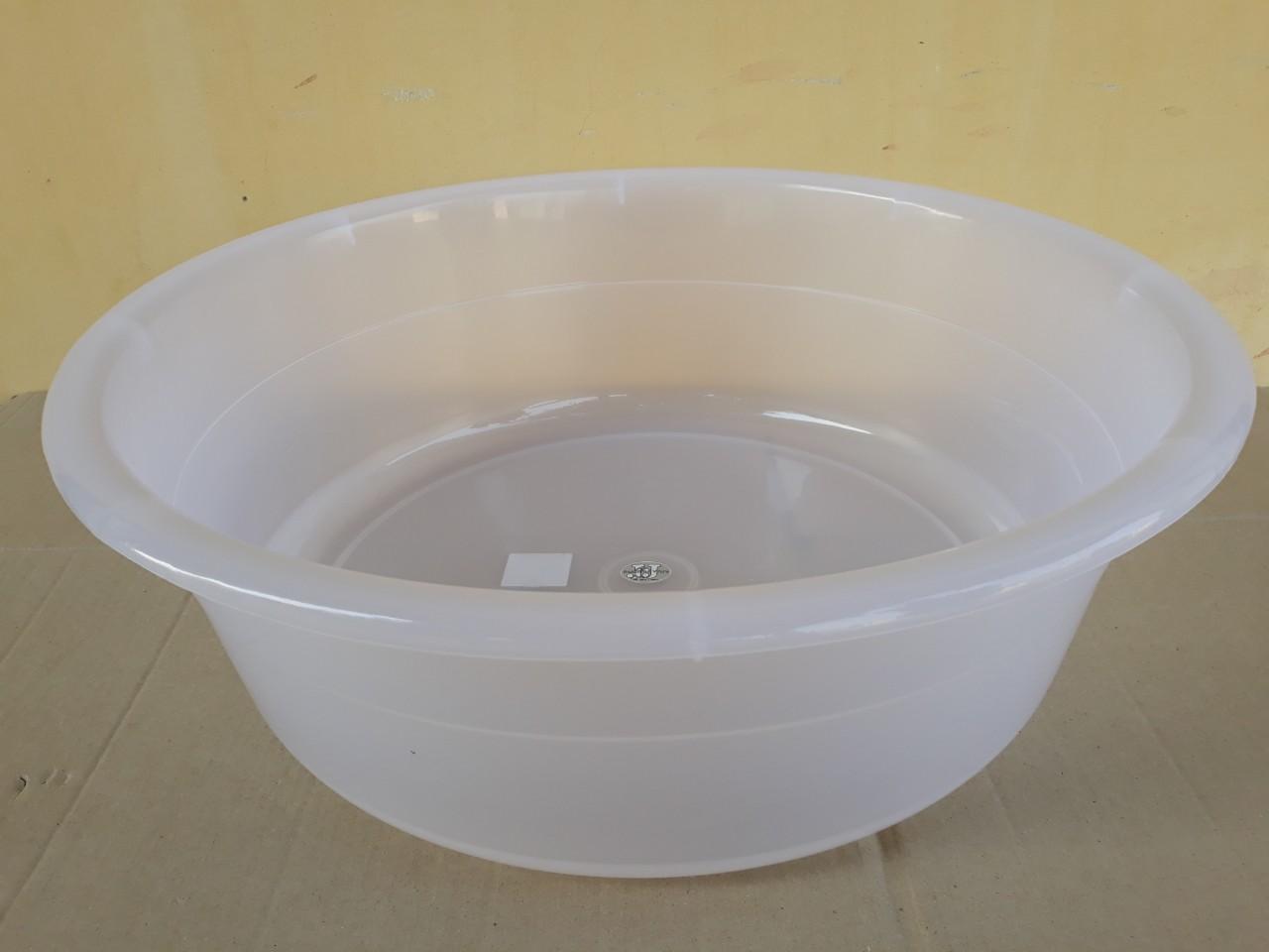 Chậu nhựa trong hình tròn 7.5L (35x12cm) JCJ-35CM