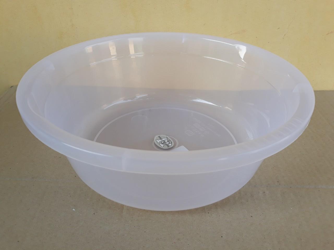 Chậu nhựa trong hình tròn 27L (55x18cm) JCJ-55CM