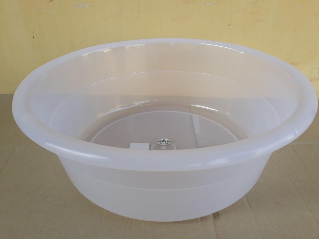 Chậu nhựa trong hình tròn 52L (65x20.8cm) JCJ-65CM