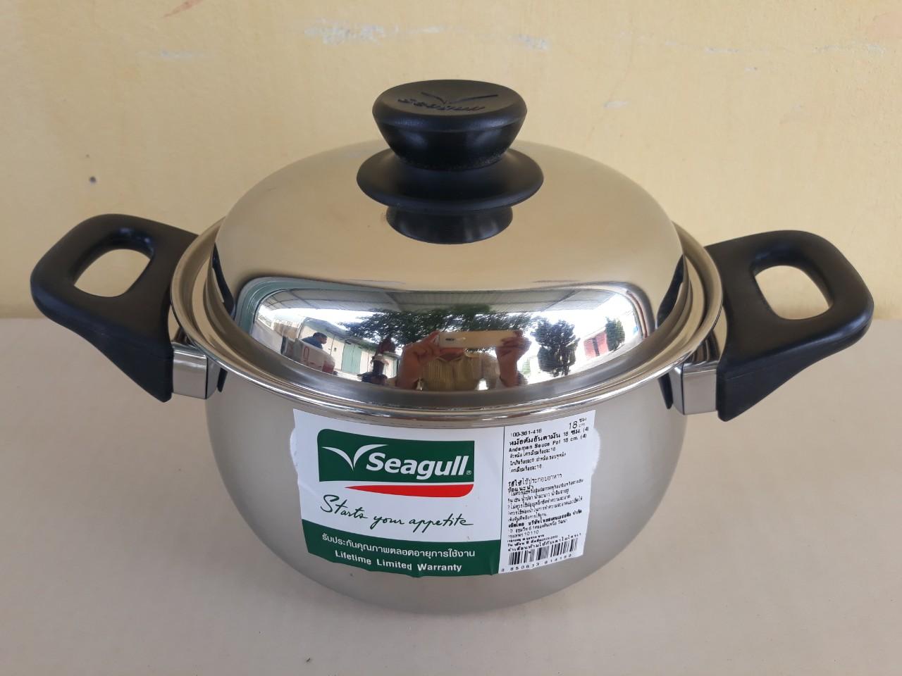 Nồi nấu canh seagull 18cm - 2.7 lít (Andaman) 100361418