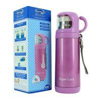 Chai đựng nước giữ nhiệt bằng nhựa & inox 350ml (7x8x21cm), Mã số: S111