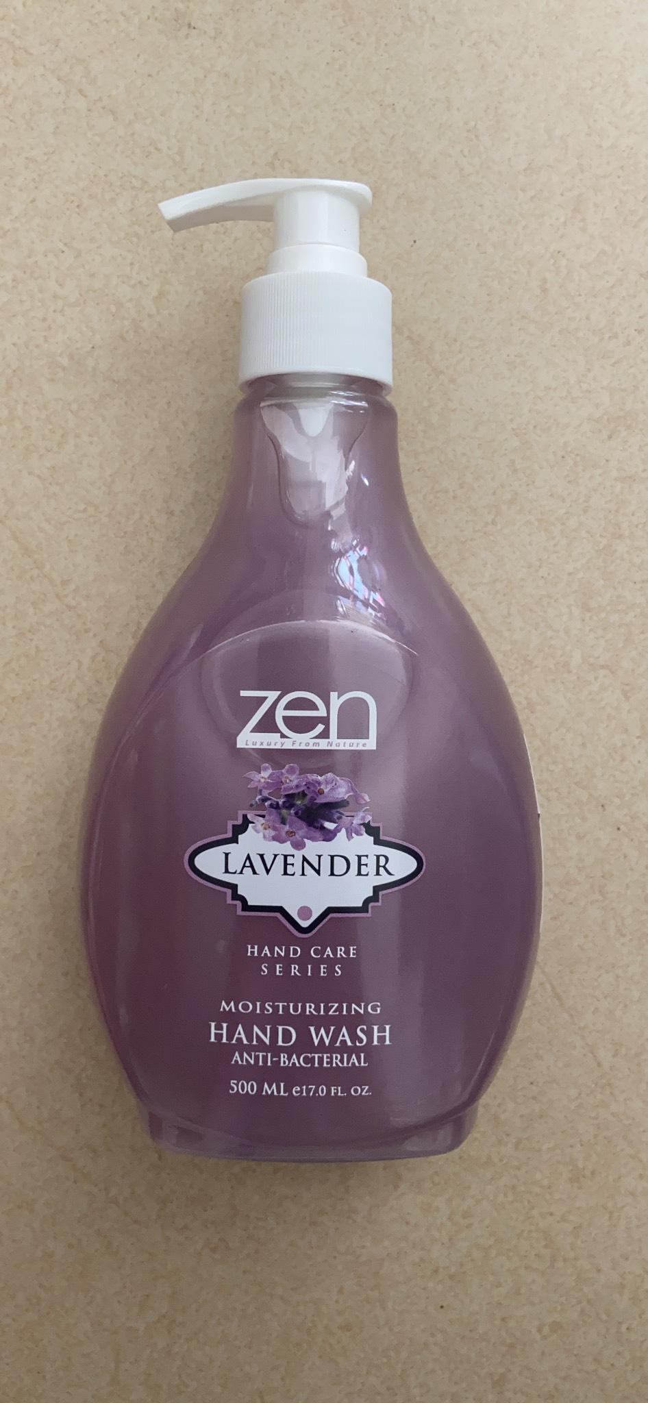 Nước rửa tay Zen 500ml (hương hoa oải hương)